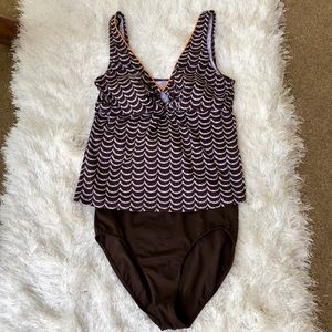 It Figures! Swim - ❤️It Figures! Tankini, 2 piece•NWOT•Size 14